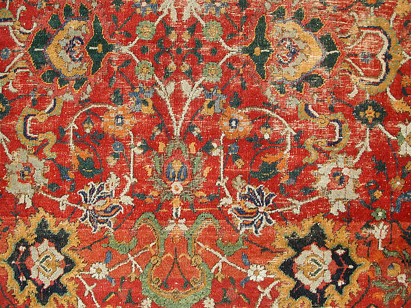 """""""Floral and Cloudband"""" Carpet"""