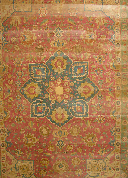 Silk Kashan Carpet
