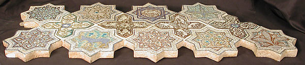 Eight-Pointed Star-Shaped Tile