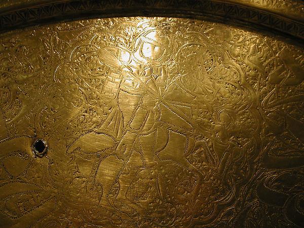Tray of Yemeni Sultan al-Mu'ayyad ibn Yusuf