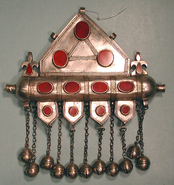 Triangular Amulet Holder