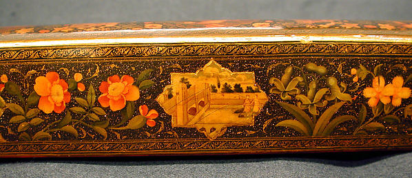 Pen Box with Architectural Cartouches