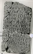 Stele of 'Sister Helen of Hage'