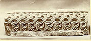 Fragment from a Molding with Intertwined Vines and Acanthus Leaves