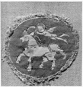 Roundel with Putto and Horse