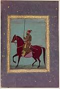 Equestrian Portrait of Aurangzeb