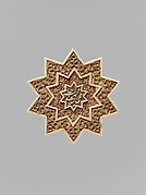 Star-Shaped Plaque