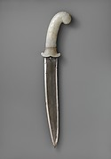 Dagger with Hilt of Leafy Plants