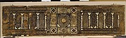 Panel from a Cenotaph or Symbolic Coffin with Marquetry Decoration