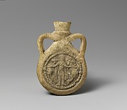 Pilgrim Flask with Saint Menas