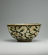 Polychrome Bowl with Cloud Decoration