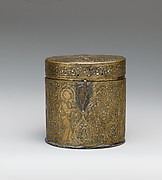 Pyxis Depicting Christ's Entry into Jerusalem