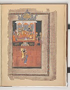 """Faridun in the Palace of Zahhak"", Folio from a Shahnama (Book of Kings)"
