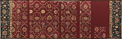 Fragments of a Trellis Pattern Carpet