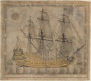 Calligraphic Galleon