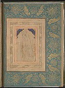 """""""Standing Youth in a Cape"""", Folio from the Bellini Album"""