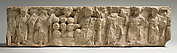 Fragment of a Frieze with the Miracle of Loaves and Fishes