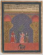 """""""Solanki Raga"""", Folio from a Ragamala"""