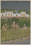 Prince and Ladies in a Garden