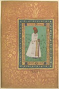 """Portrait of Jadun Rai Deccani"", Folio from the Shah Jahan Album"