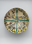 Buff Ware Bowl with Geometric Patterns