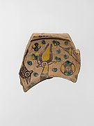 Buff Ware Fragment with Horned Animals