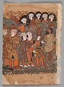 """The Dishonest Goldsmith is Hanged"", Folio from a Kalila wa Dimna"