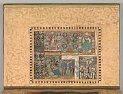 """Six Devotional Scenes"", Folio from the Bellini Album"