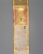 Calendar-Almanac in Scroll Form