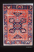 Carpet with Quatrefoil Design