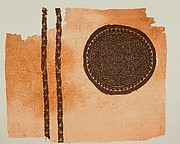Fragment with an Interlace Medallion and Bands