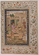 Akbar Visited by Jahangir and Daniyal