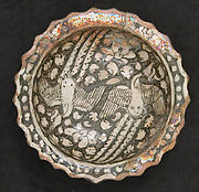 Plate with Phoenixes