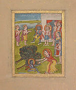 Scene from the Life of Krishna