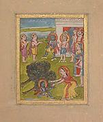 Scene from the Life of Krishna