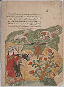 &quot;The Flight of the Tortoise&quot;, Folio from a Kalila wa Dimna