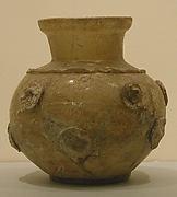Vase with Five Discs