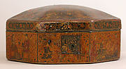 Box with Scenes of an Emperor Receiving Gifts