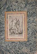 """St. Michael, the Archangel"", Folio from the Bellini Album"
