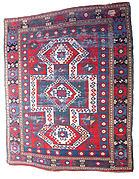 Double-Ended Bellini-Design Kazak Carpet
