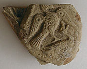 Fragment of a Molded Vessel with Birds in Combat
