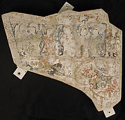 Fragment of Wall Painting