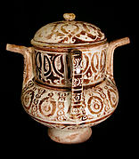 Two-Spouted Vessel with a Lid