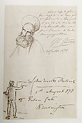 Autographs and Sketches from Artist Friends to Samuel P. Avery