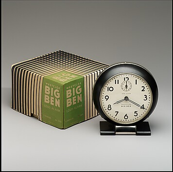 """Big Ben"" Alarm Clock with Original Box"