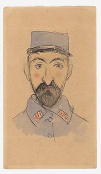 Self-Portrait as a Soldier