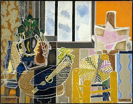 The Studio (Vase before a Window)