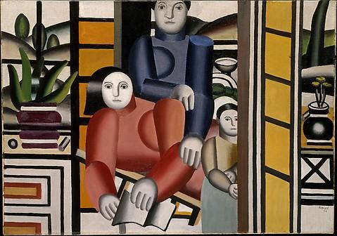 Three Women by a Garden