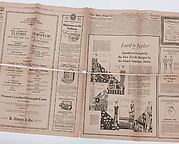 from The New York Sun, Monday, November 23, 1925. Advertisment from Lord & Taylor exclusively introducing the Ameris