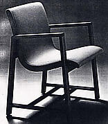 Armchair for Chamber Music Hall, Kleinhans Music Hall, Buffalo